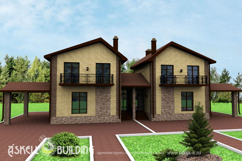 Проекты дачных домов с мансардой – примеры интересных