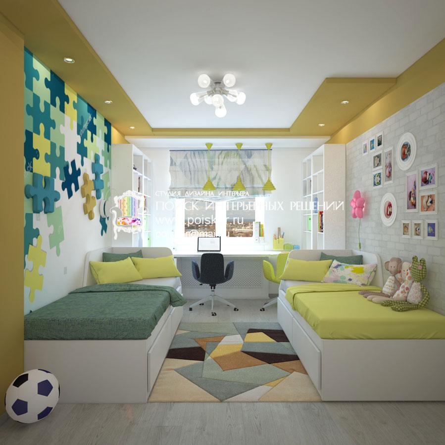 Как сделать детскую комнату для мальчиков разного возраста