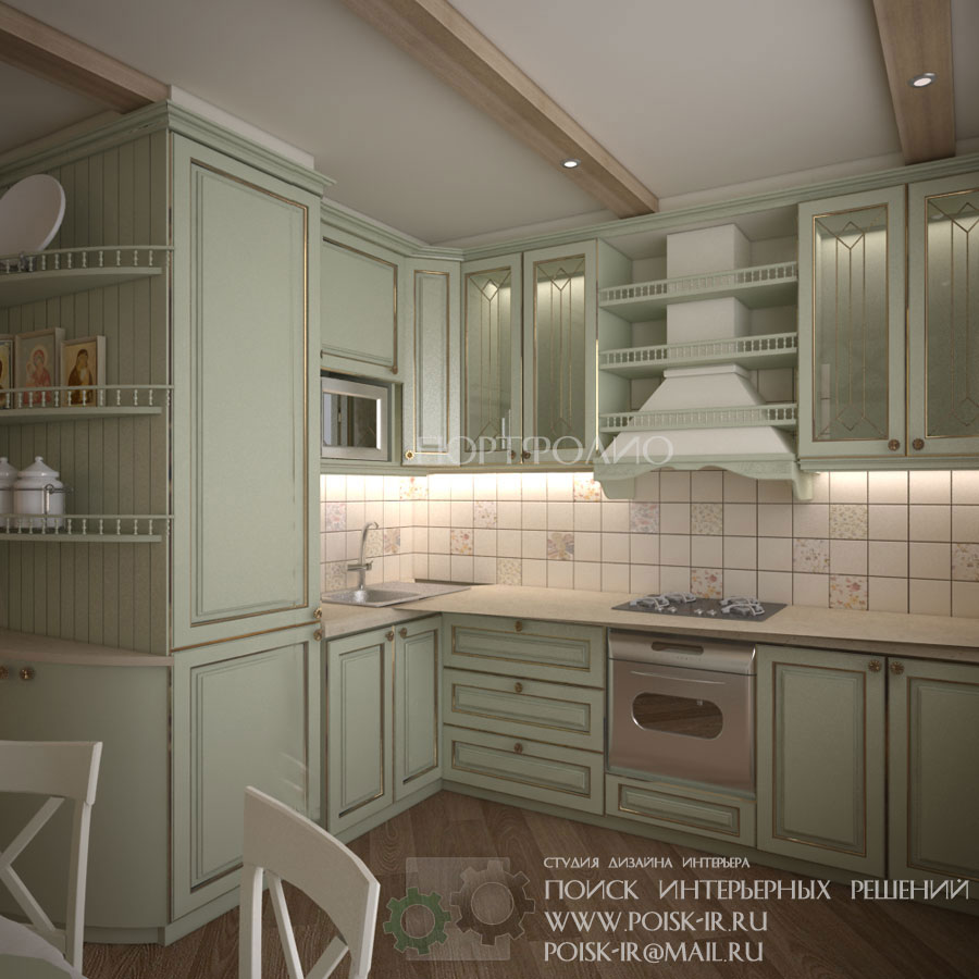 Дизайн кухни дома квартиры