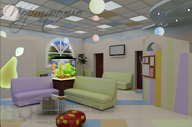 Дизайн учреждений детских